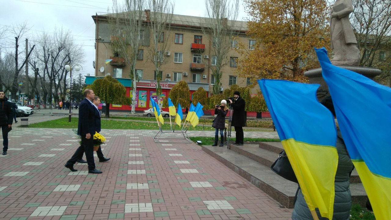 Мелитополь присоединился к празднованию Дня достоинства и свободы, фото-7, Фото сайта 0619