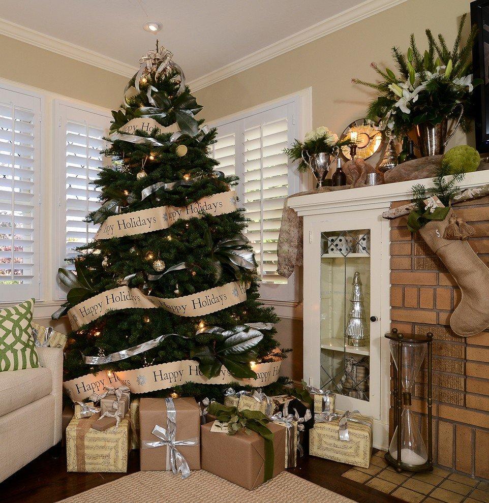 Украшаем новогоднюю елку в год Желтой Земляной Свиньи, фото-4