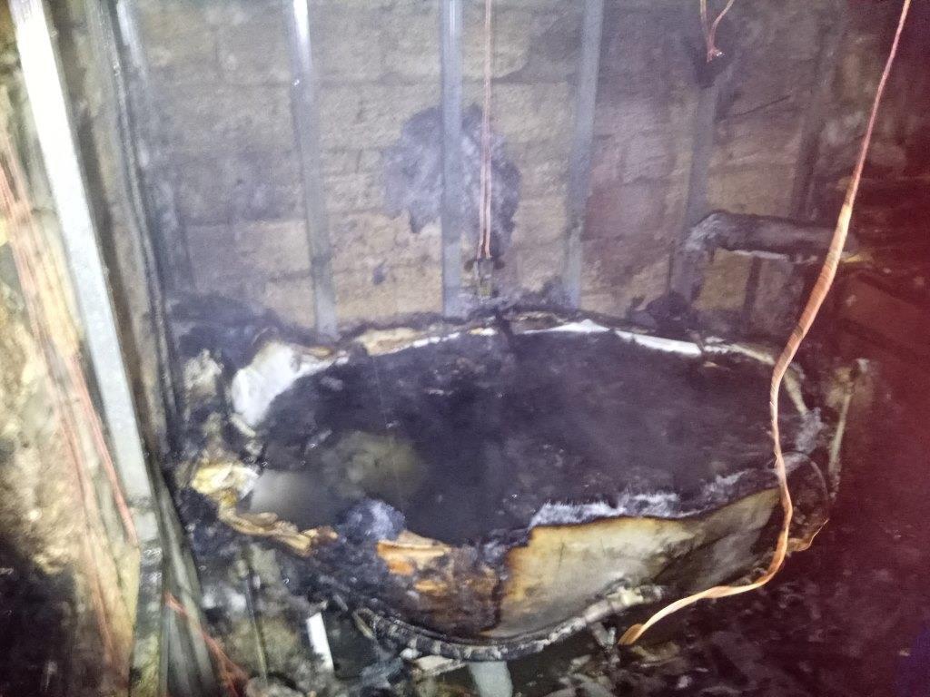Во время пожара в бане травмировался мужчина, - ФОТО, фото-2