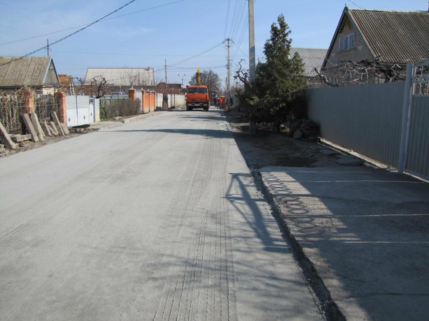 На Красной горке завершают капитальный ремонт дороги, фото-4