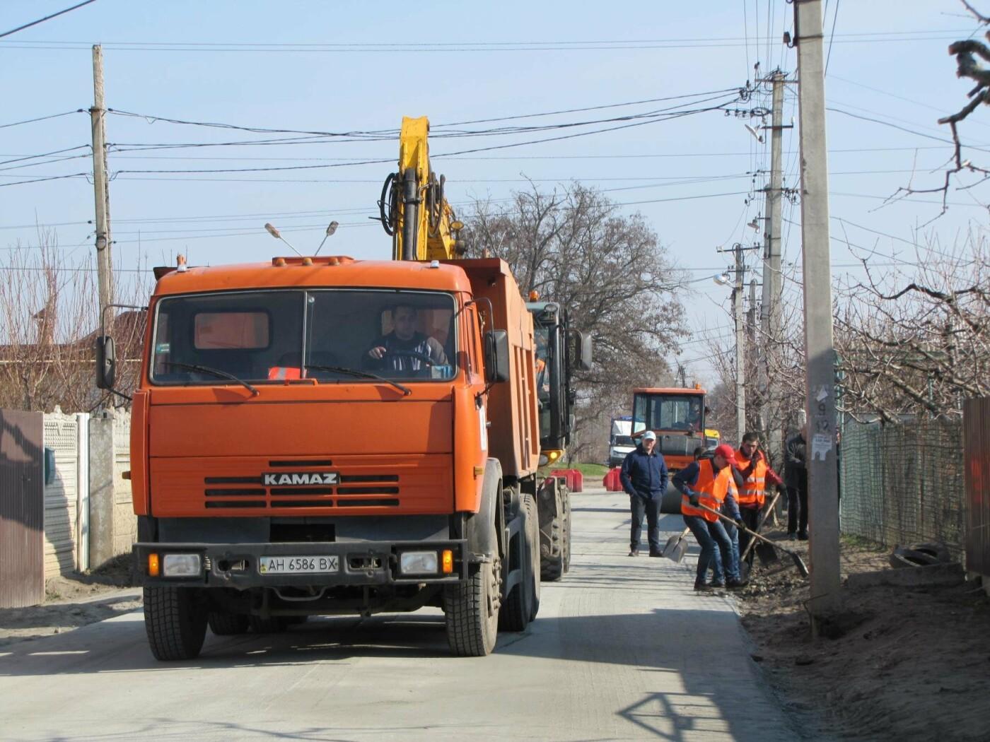 На Красной горке завершают капитальный ремонт дороги, фото-3