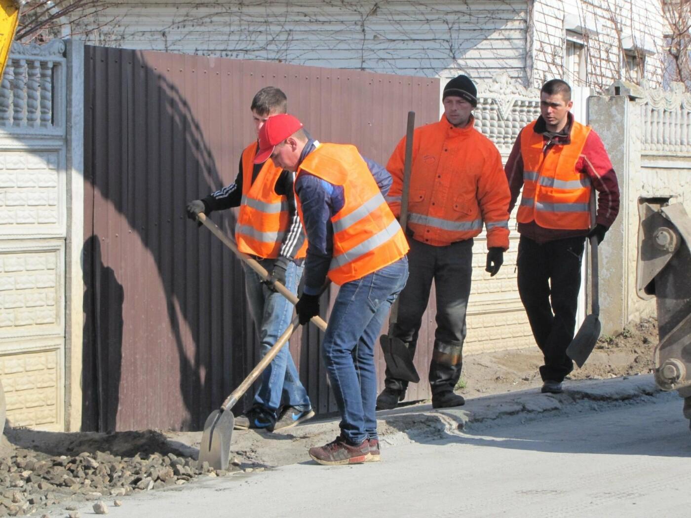 На Красной горке завершают капитальный ремонт дороги, фото-1