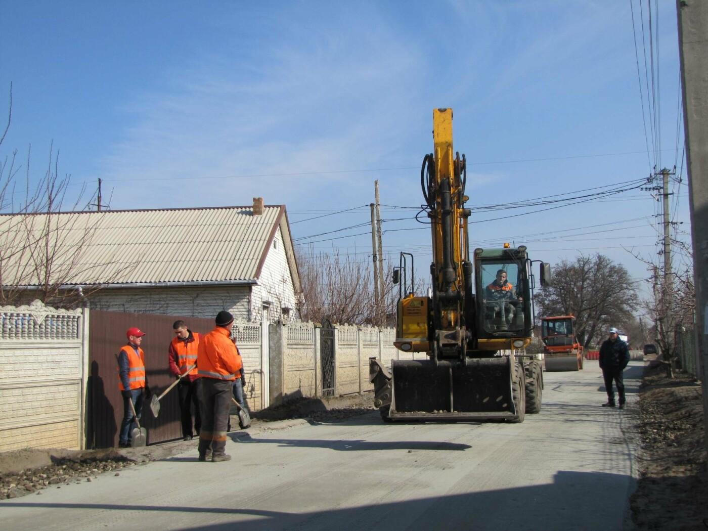 На Красной горке завершают капитальный ремонт дороги, фото-5
