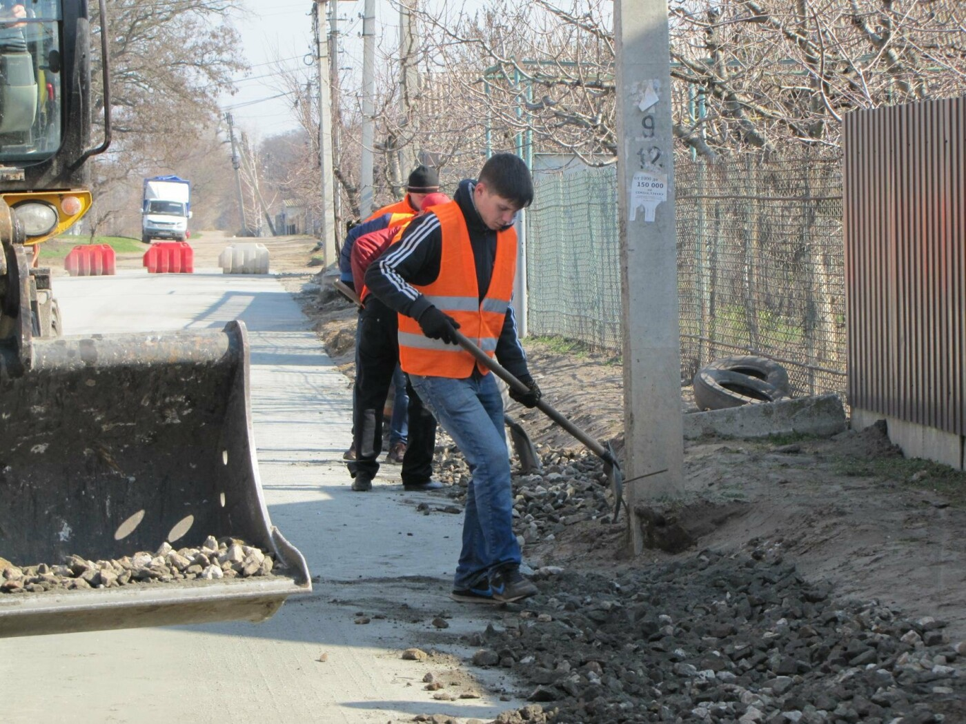 На Красной горке завершают капитальный ремонт дороги, фото-8