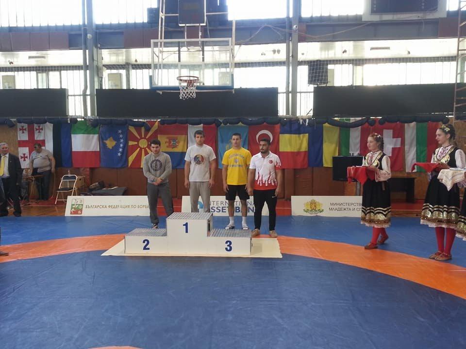 Мелитопольский борец - призер международного турнира, фото-1