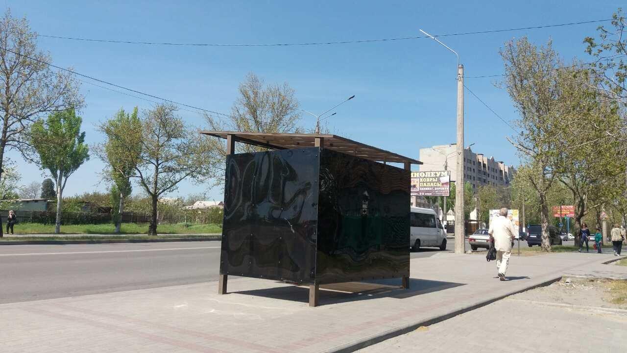 В Мелитополе восстановили остановку Пушкина, фото-1
