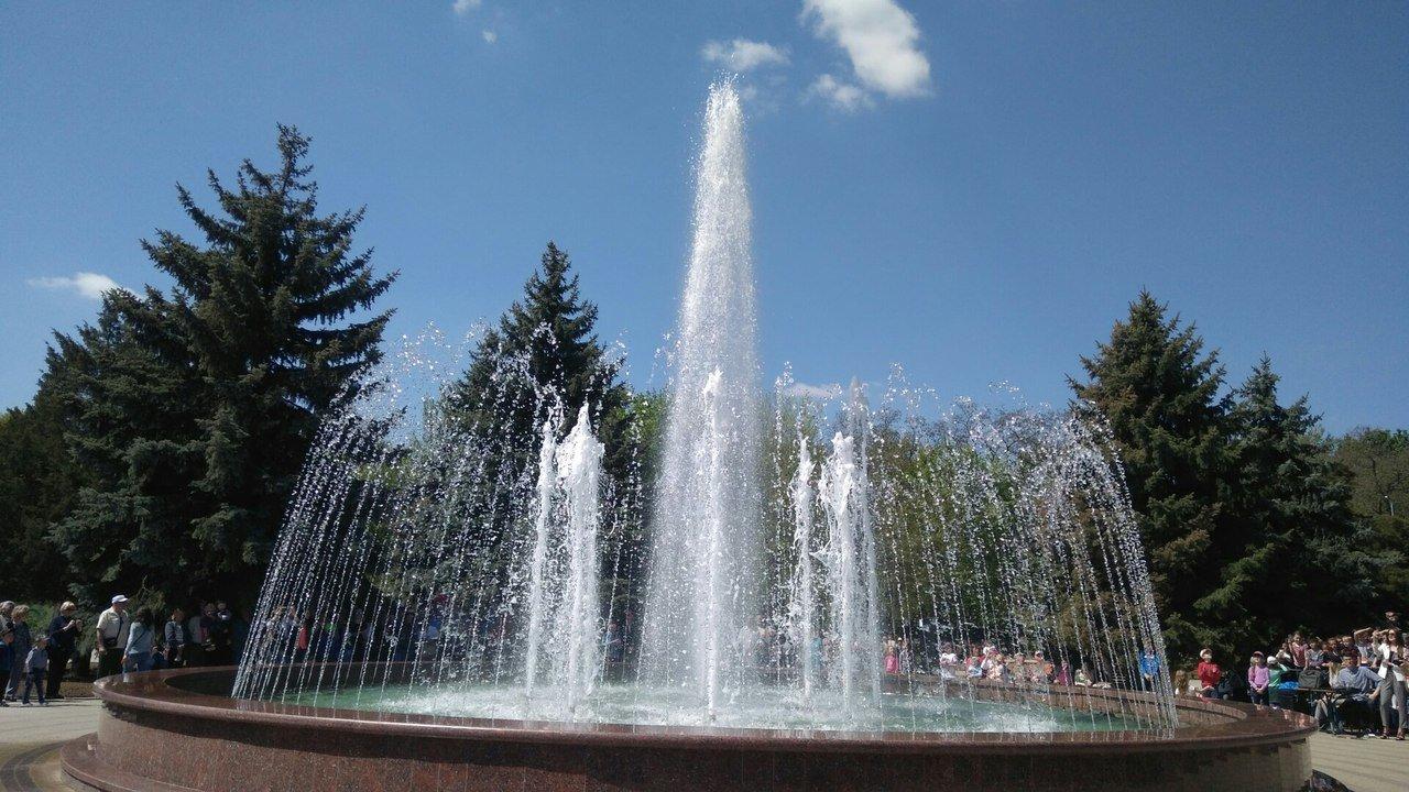 В мелитопольском парке состоялось торжественное открытие светомузыкального фонтана, фото-8