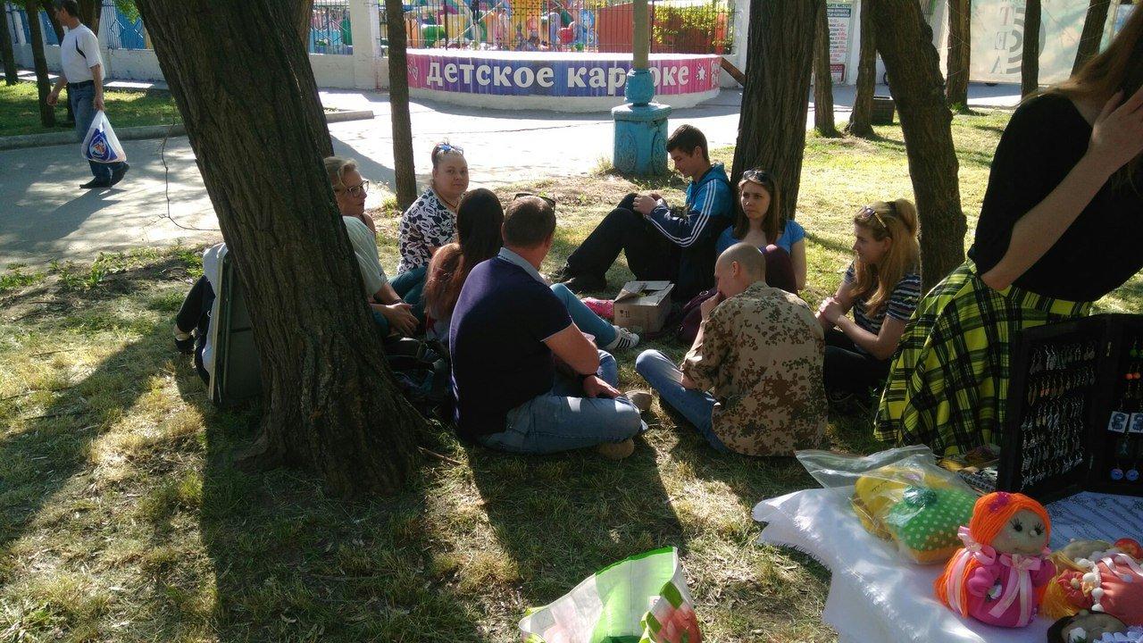 В Мелитополе прошел фестиваль в стиле арт-пикника LunchFest, фото-5