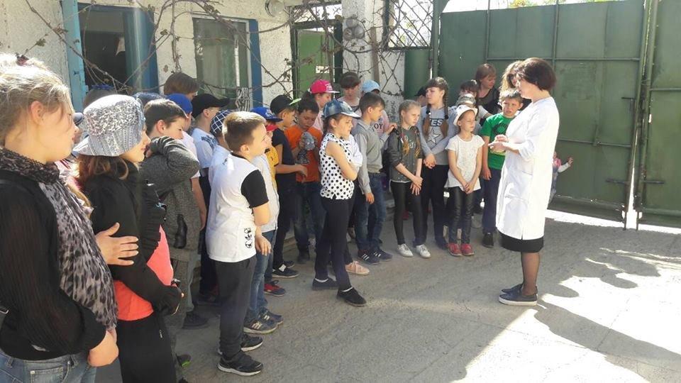 Мелитопольские школьники побывали на производстве минеральной воды, фото-3