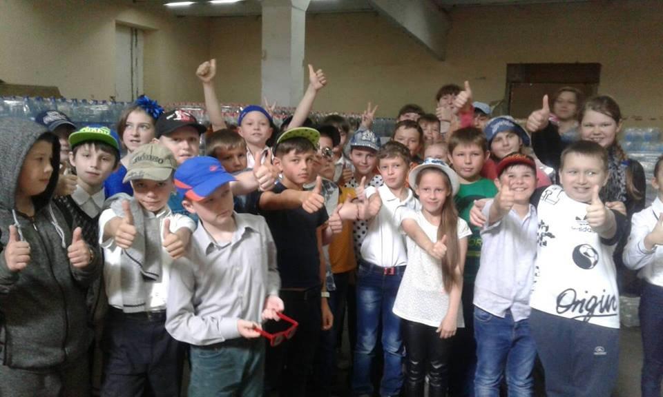Мелитопольские школьники побывали на производстве минеральной воды, фото-5