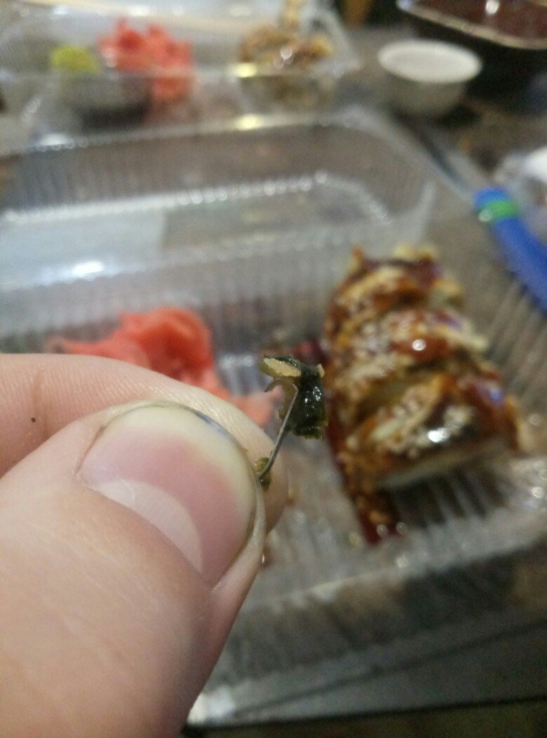 Мелитополец нашел в роллах железную скрепку , фото-1, Фото из открытого доступа