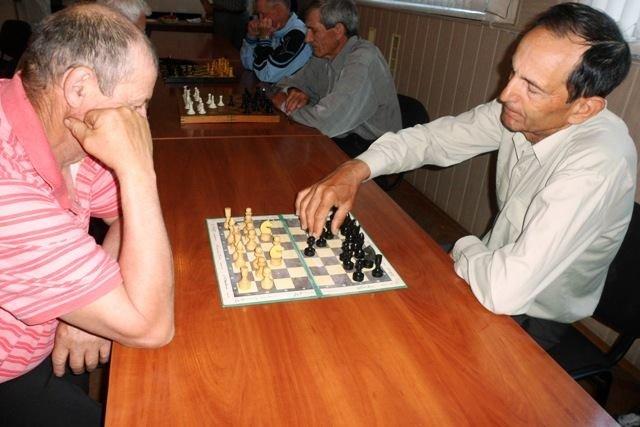 Состоялся шашечно-шахматный турнир среди ветеранов Мелитопольского района, фото-1