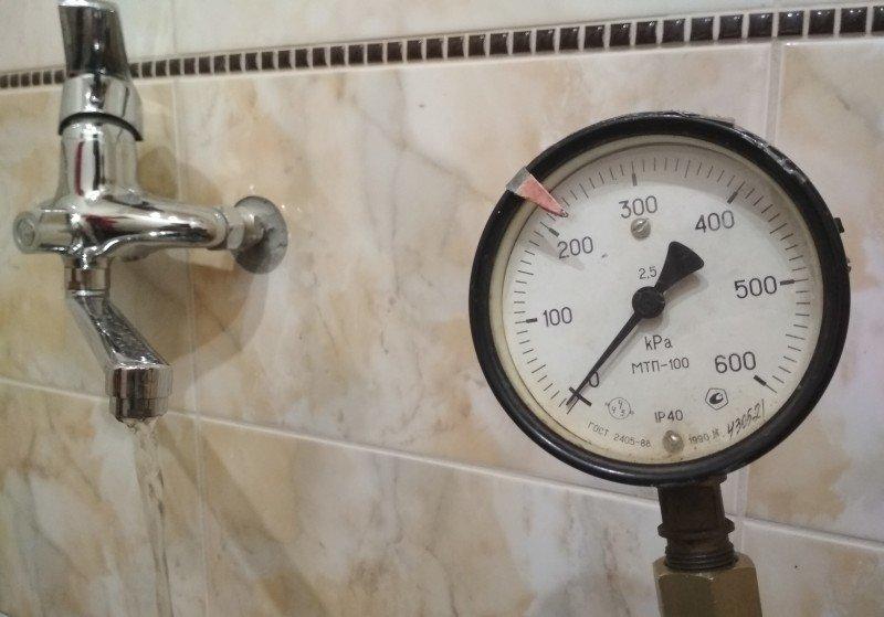 Причина слабого напора воды в кранах мелитопольцев, фото-1