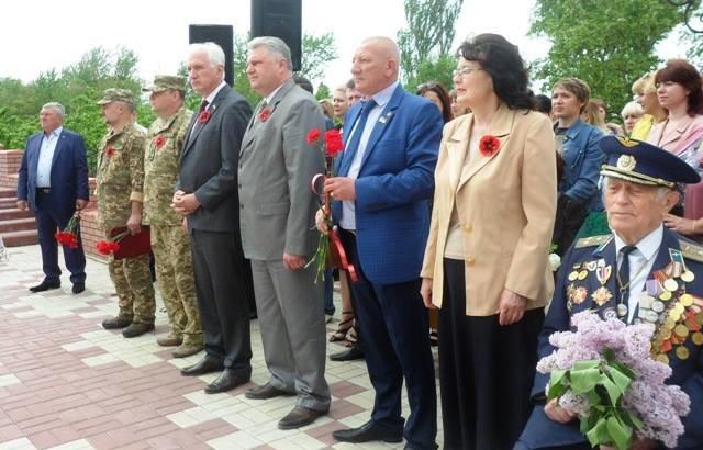 В Мелитопольском районе отдали дань уважения героям, фото-5