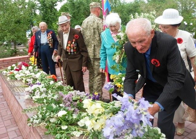 В Мелитопольском районе отдали дань уважения героям, фото-6
