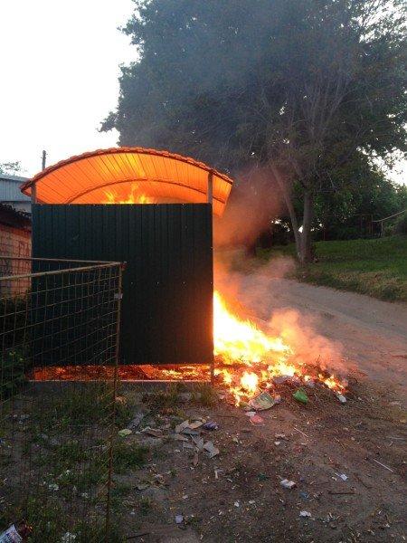Мелитопольцы страдают из-за мусорных контейнеров, фото-2, Фото из открытого доступа