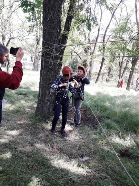 В Мелитопольском районе состоялся турслет учащейся молодежи по спортивному туризму, фото-1