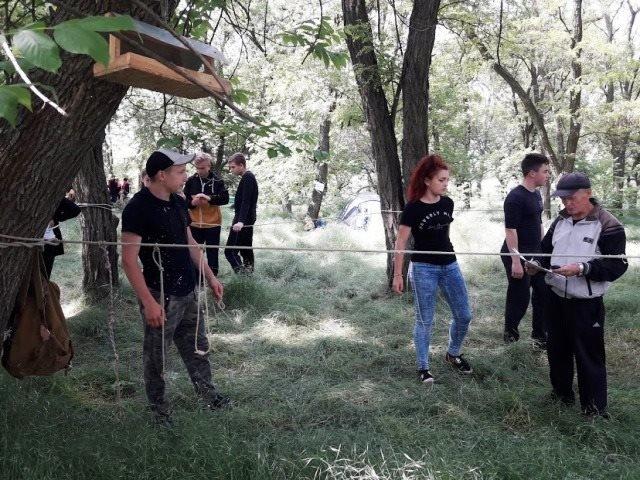 В Мелитопольском районе состоялся турслет учащейся молодежи по спортивному туризму, фото-2