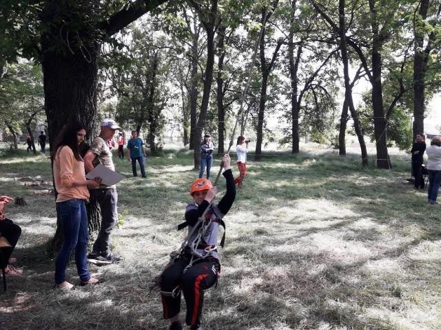 В Мелитопольском районе состоялся турслет учащейся молодежи по спортивному туризму, фото-3