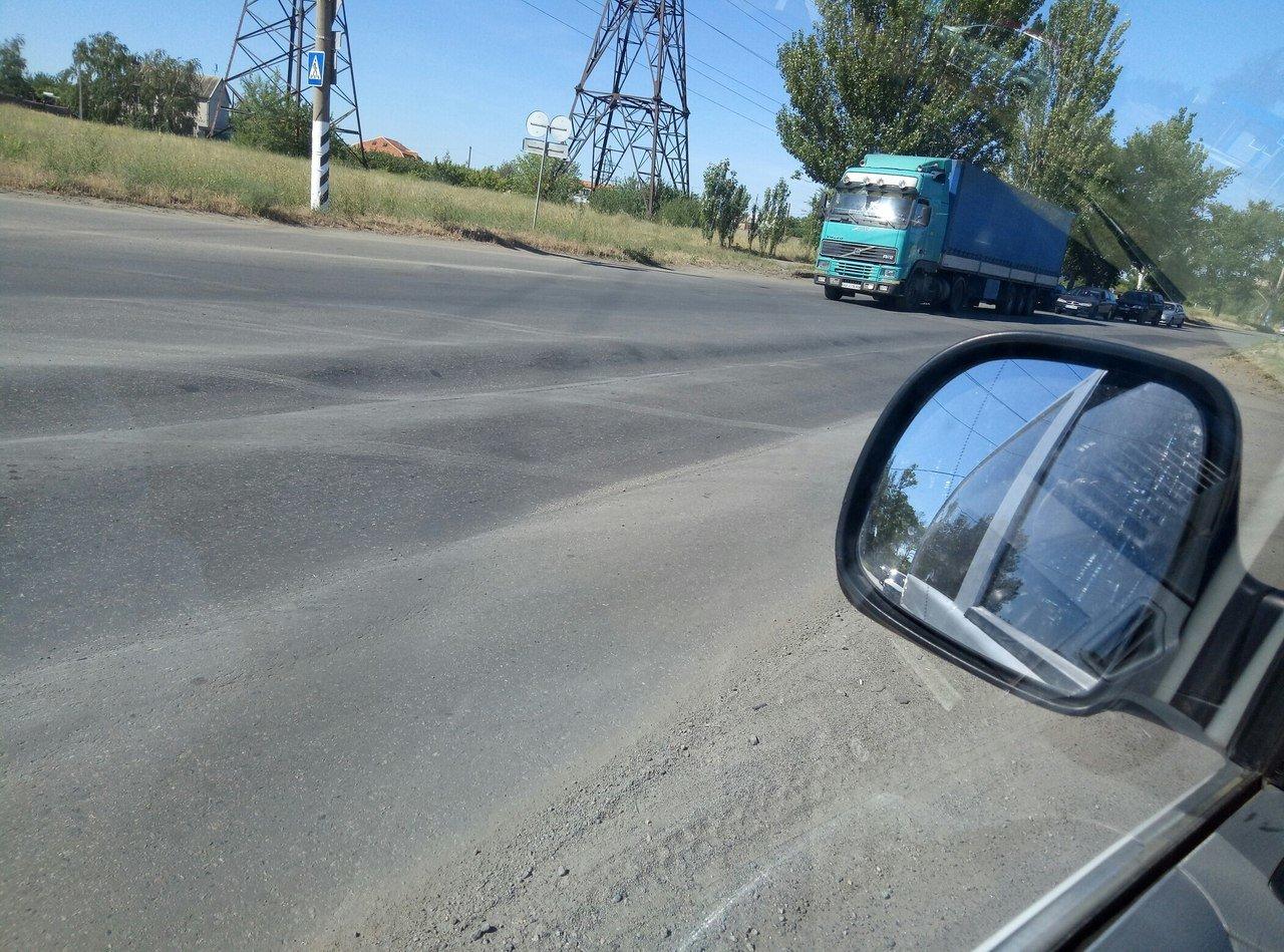 В Мелитополе в ремонте нуждается участок дороги , фото-5, Фото из соцсетей