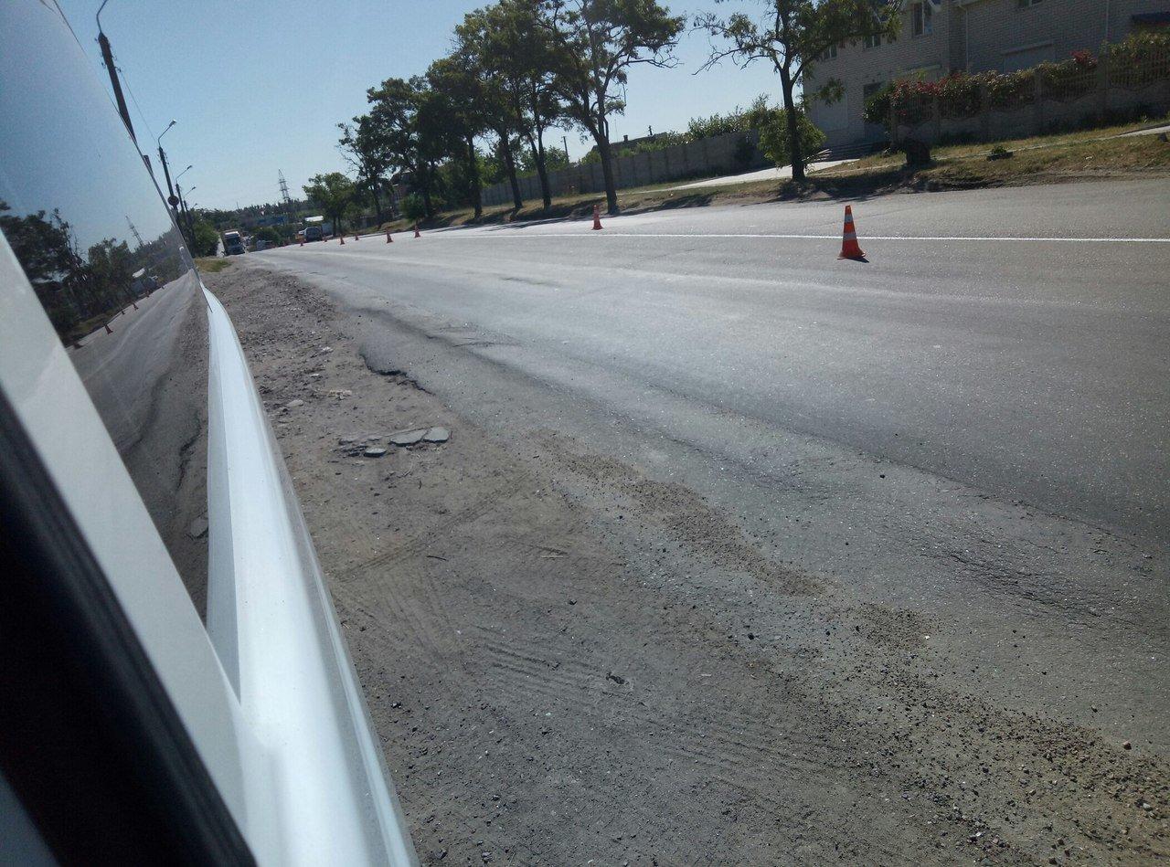 В Мелитополе в ремонте нуждается участок дороги , фото-6, Фото из соцсетей