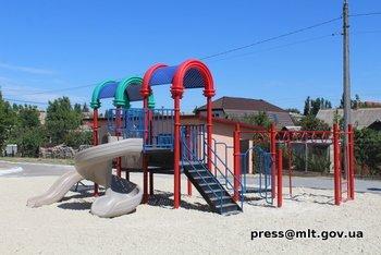 В Мелитополе появилась первая в области инклюзивно-спортивная площадка , фото-1