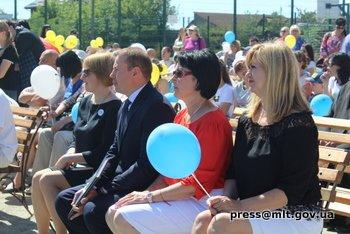 В Мелитополе появилась первая в области инклюзивно-спортивная площадка , фото-3