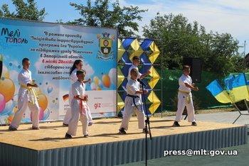В Мелитополе появилась первая в области инклюзивно-спортивная площадка , фото-5