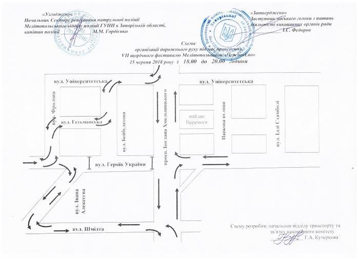 Завтра в Мелитополе перекроют центральный проспект, фото-1