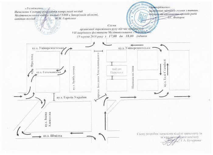 Завтра в Мелитополе перекроют центральный проспект, фото-2