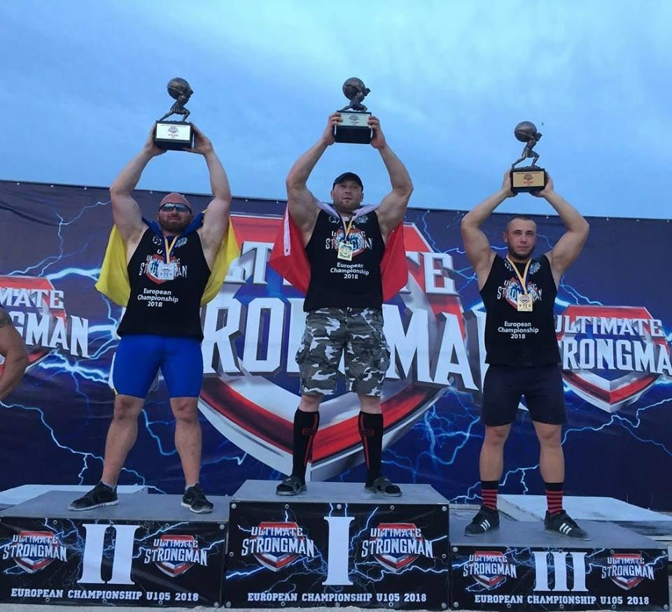 Мелитопольские спортсмены - в тройке сильнейших стронгменов Европы, фото-1