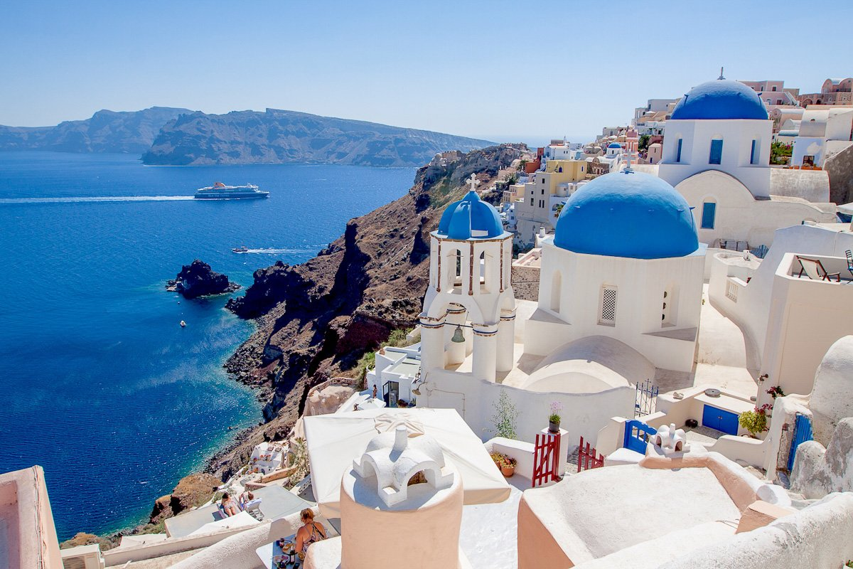 Отдохните на Санторини - самом сказочном острове Греции   Новости