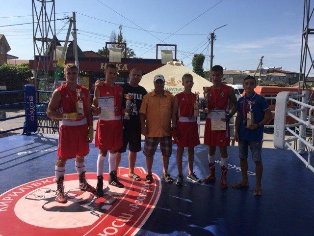 Мелитопольские спортсмены достойно выступили на международном турнире по боксу , фото-1