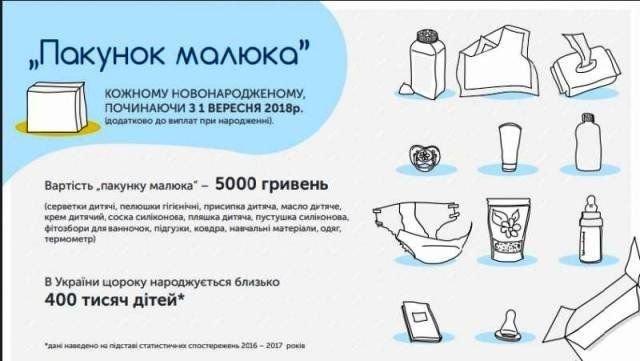 """В Мелитополе """"Пакет малыша"""" можно получить в течение месяца после рождения ребенка, фото-1"""
