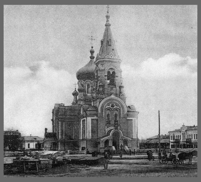 На месте собора развернули торговлю, фото-3