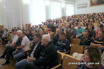 Мелитопольских спасателей поздравил мэр города, фото-2