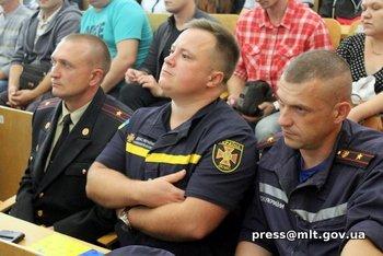 Мелитопольских спасателей поздравил мэр города, фото-3