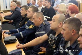 Мелитопольских спасателей поздравил мэр города, фото-4