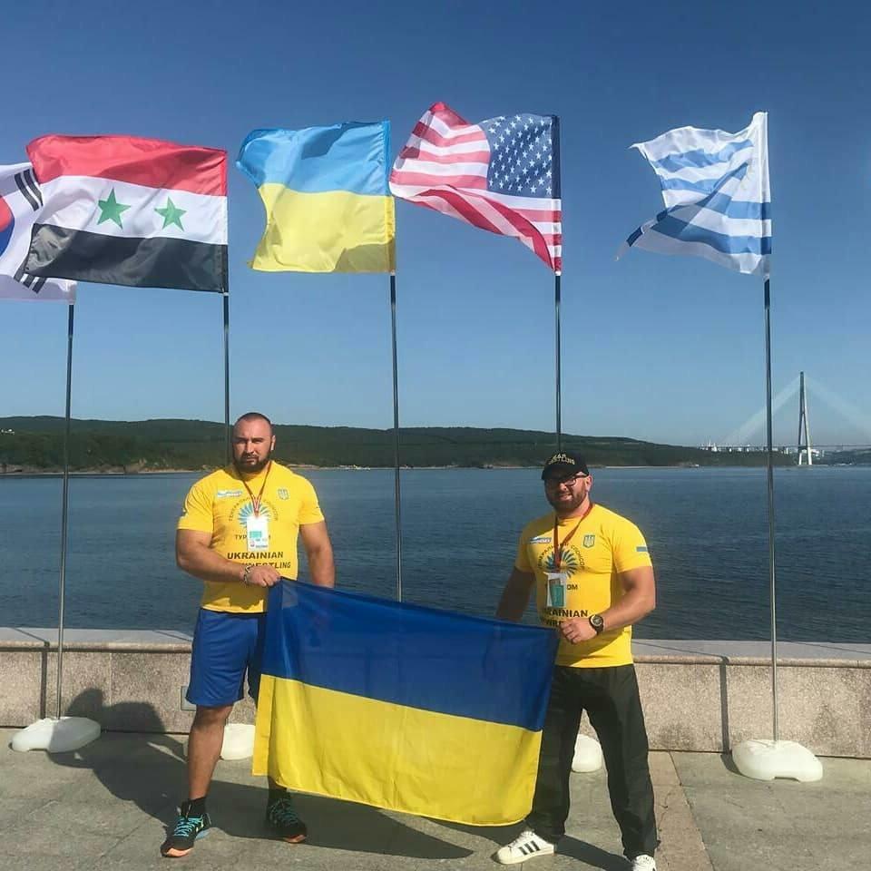 Сборная Украины по мас-рестлингу завоевала четыре медали на престижных соревнованиях, фото-11