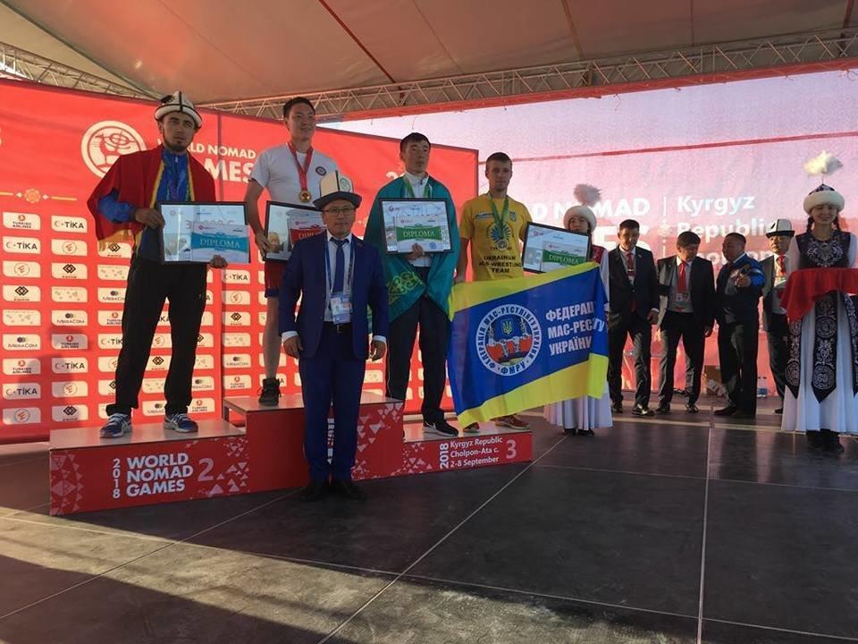 Сборная Украины по мас-рестлингу завоевала четыре медали на престижных соревнованиях, фото-6