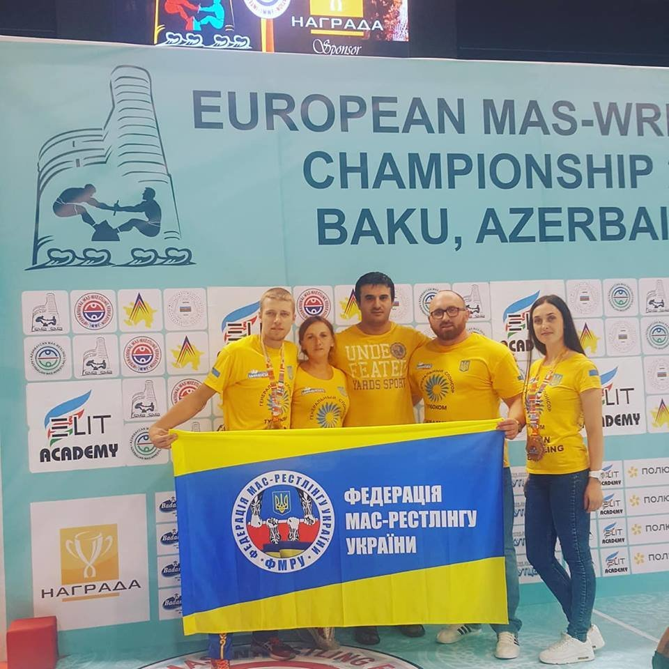 Сборная Украины по мас-рестлингу завоевала четыре медали на престижных соревнованиях, фото-2