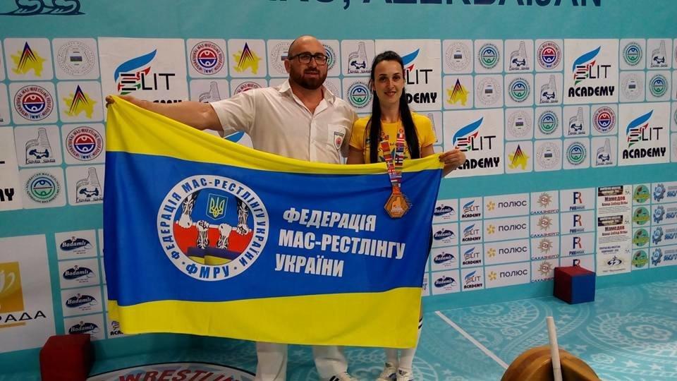 Сборная Украины по мас-рестлингу завоевала четыре медали на престижных соревнованиях, фото-3