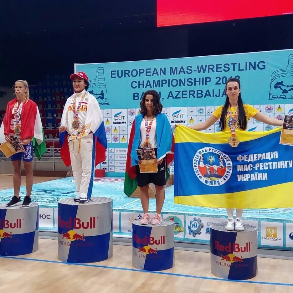 Сборная Украины по мас-рестлингу завоевала четыре медали на престижных соревнованиях, фото-4