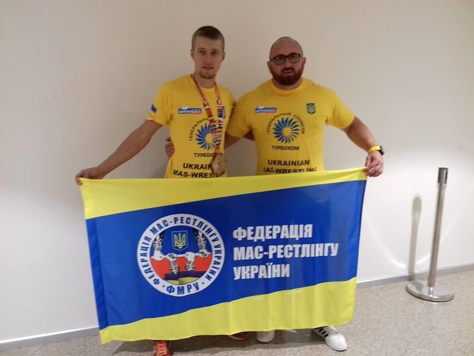 Сборная Украины по мас-рестлингу завоевала четыре медали на престижных соревнованиях, фото-1