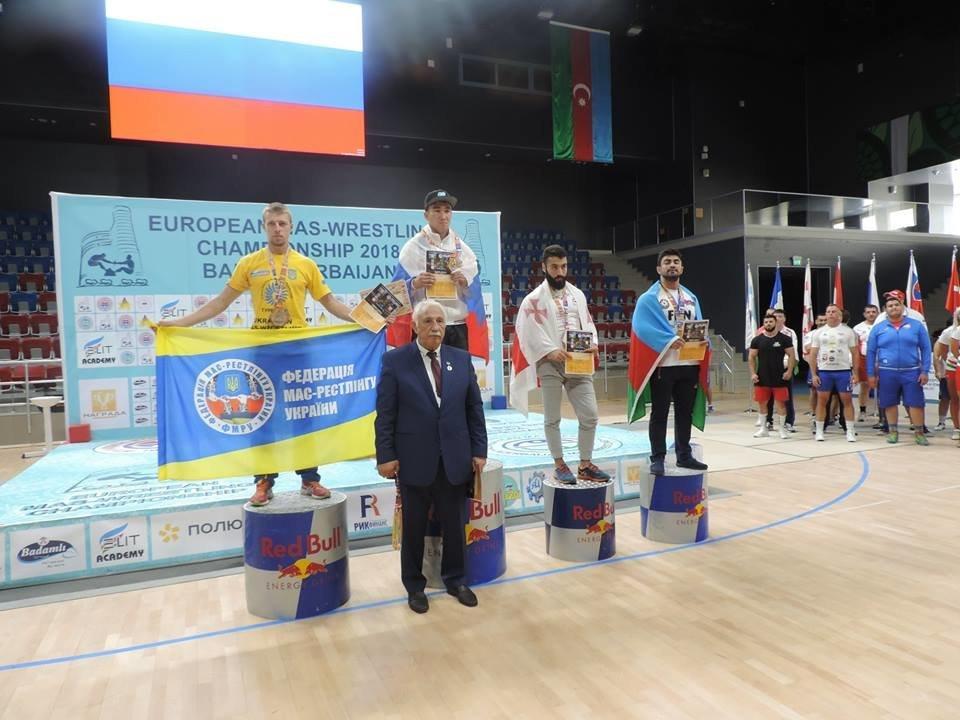 Сборная Украины по мас-рестлингу завоевала четыре медали на престижных соревнованиях, фото-5