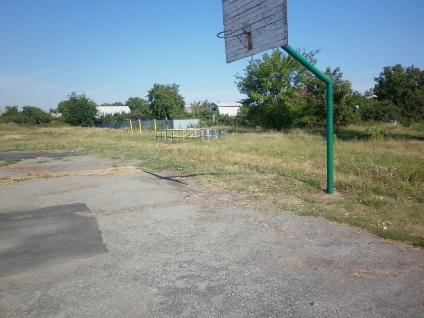 На территории мелитопольской школы появится современная спортплощадка, фото-4