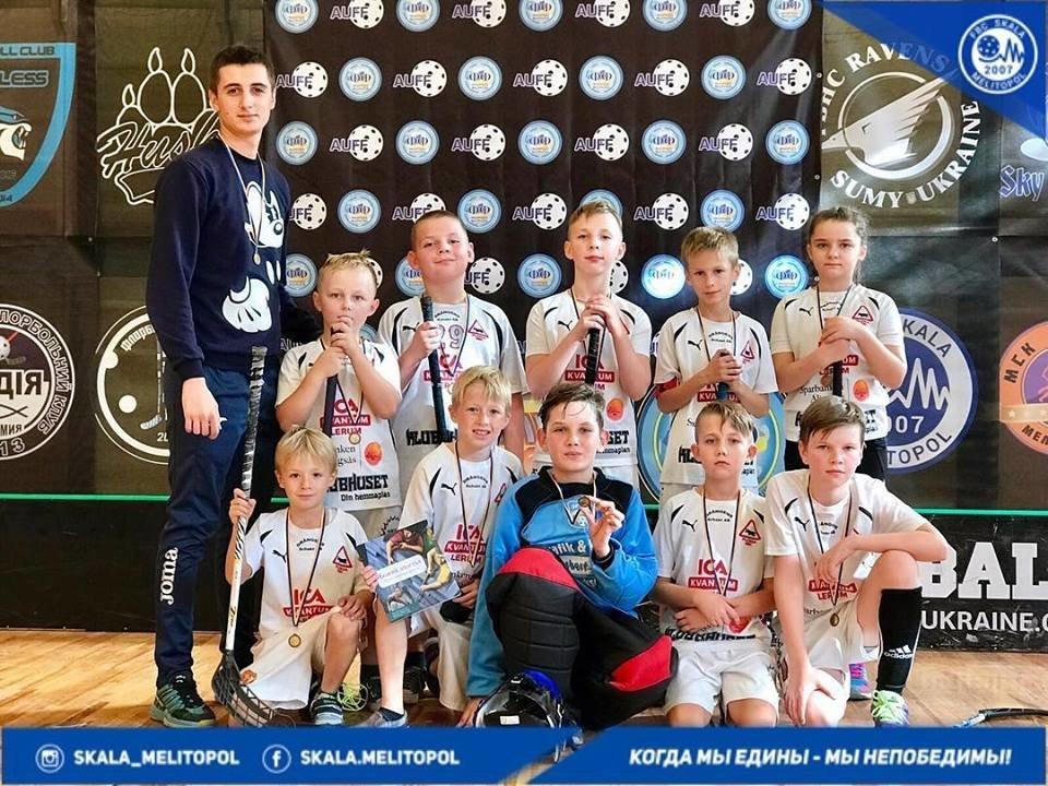Мелитопольские флорболисты завоевали бронзу на престижных соревнованиях, фото-2