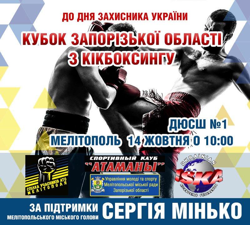 В Мелитополе состоится Кубок области по кикбоксингу, фото-1