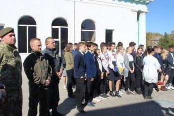 В Мелитополе открыли мемориальную доску в честь воинов УНР, фото-4
