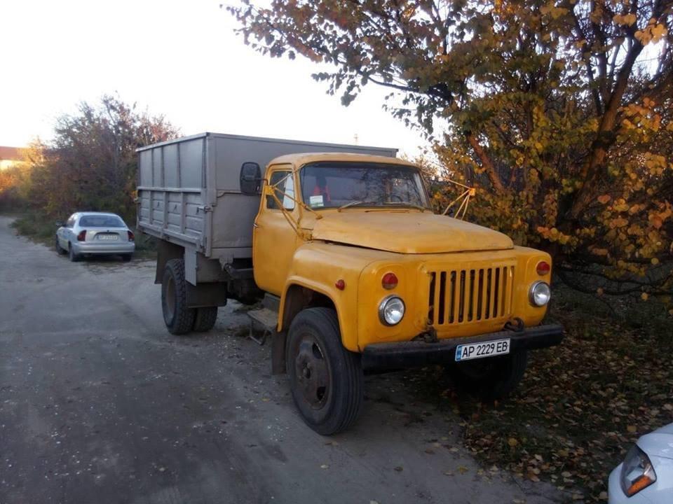 Мелитопольцы задержали правонарушителя на грузовике , фото-1, Фото Алексея Громыко